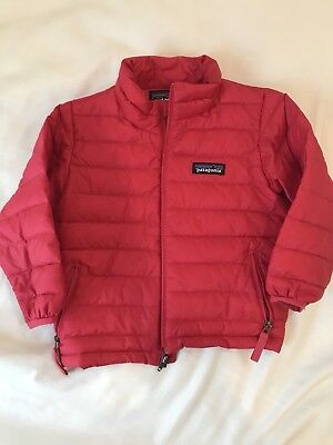 2T Patagonia Pink Jacket - untreated stains