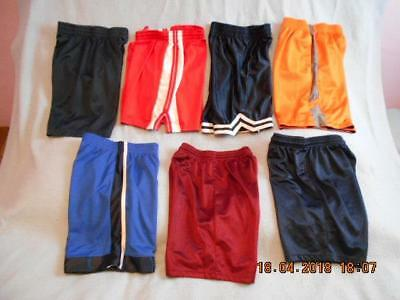 7 Pc Lot of Pre-owned Poly Shorts Boys Size 8