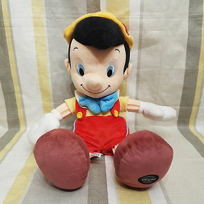 """Pinocchio 17"""" Plush foot stamped by Disney Store"""