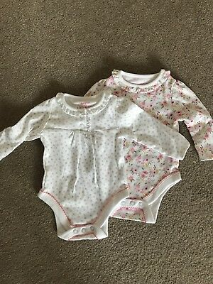 Brand new f&f Long Sleeved Vest 0-3 Months