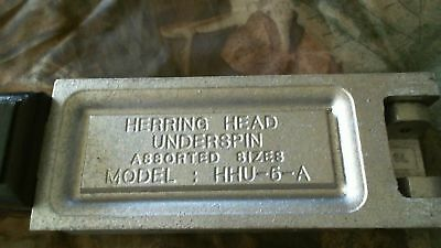 Do-It Mold HERRING HEAD  UNDERSPIN Assorted Sizes