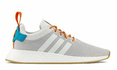 the best attitude 35c51 d37cb Adidas Men's Originals NMD_R2 Summer NEW AUTHENTIC Crystal White / Grey O  CQ3080