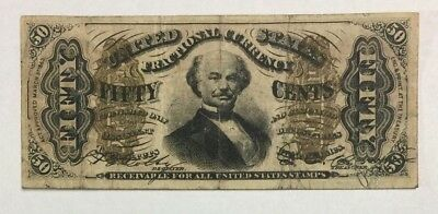 1863 50 Cents Fractional Currency Note - SKU#14070