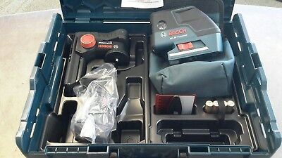 Bosch Gcl 25 5-Point Self Leveling Point Laser Set New