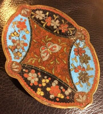 Old Cloisonne Pin Tray