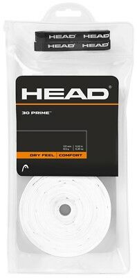 Head Prime White Overgrip 30 pack