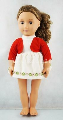 New Skirt With Lace Princess Dress Fit For 18'' American Girl Doll Clothes Gift