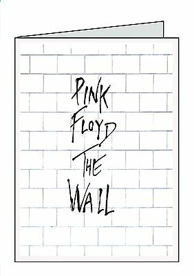 Pink floyd birthday card personalised plus envelope 340 pink floyd the wall personalised card all occasions birthday sorry your leaving bookmarktalkfo Image collections
