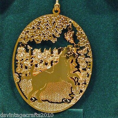 Jack Russell 24k Gold Plated Ornament New By Kingsheart Forge