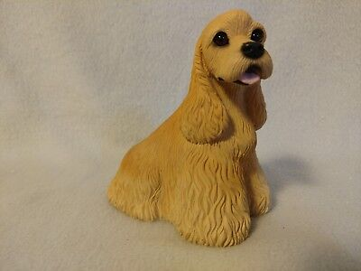 Cocker Spaniel Medium Figurine - Tan