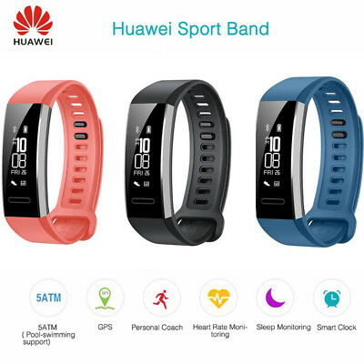 Huawei Band 2 Pro SmartWatch Built-In GPS HR Sports Fitness Swimming Tracker