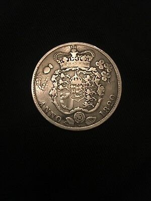 George IV Sterling Silver Half-Crown 1820 Coin