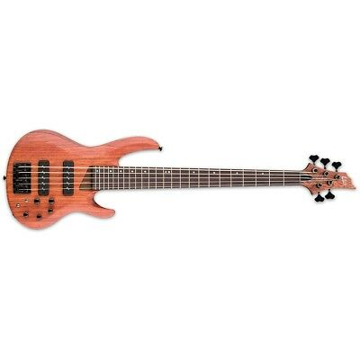ESP LTD B-1005SE Bubinga Natural Satin NS 5-String Electric Bass + Free Gig Bag