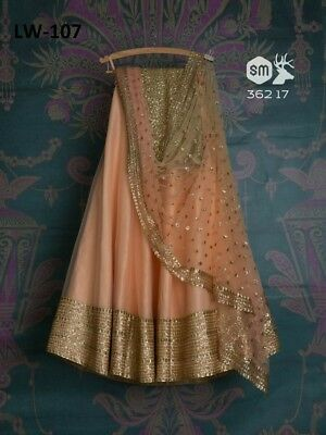 Bollywood Indian Pakistani  Designer Lehenga Choli Wedding Women Party Wear 107