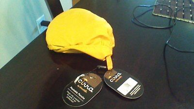 Cirra by Shedrain ~ Adult OSFA ~ Gold ~ Packable Rain Poncho