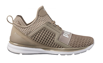 b65d50fef441 Mens PUMA IGNITE LIMITLESS Vintrage Khaki Trainers 189495 02