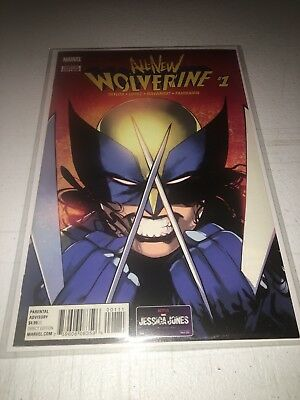 All New Wolverine (2017) #1 NM First X-23 as Wolverine