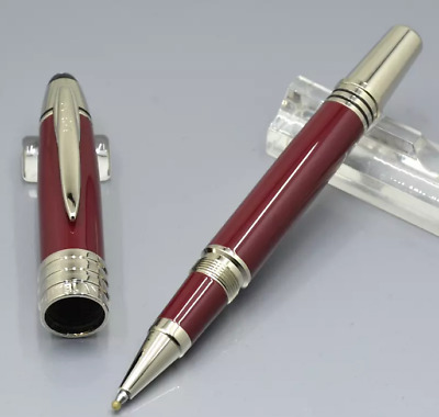 Luxury MB JFK Metal Collection Rollerball Pen Ink Color Gift For School Office