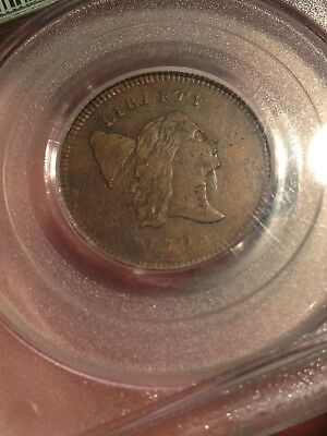 1795 c-5a liberty cap half cent PCGS VF30 PCGS Price Guide-2850