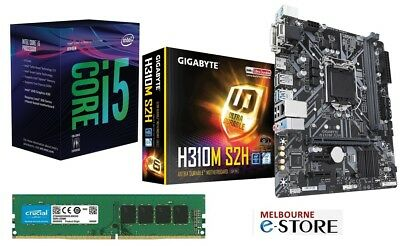 PC Upgrade Kit Six Core i5 8th 8400 + Gigabyte Motherboard + 8GB DDR4 RAM