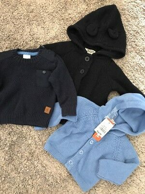 Knitted Jackets And Jumper Size 00