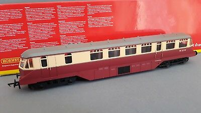 Hornby R2869 Ex-Gwr Diesel Railcar Br Excellent Condition Boxed Oo Gauge(Fs)