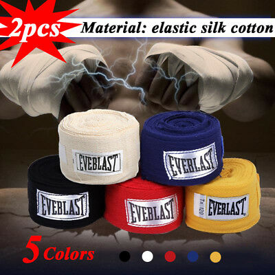 2Pcs Hand Wraps Bandages,Boxing Inner Gloves Muay Thai MMA Mexican Stretch