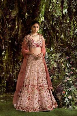 Embroidered Designer Bridal Lehenga Choli Indian Bollywood Wedding Ethnic Lehnga