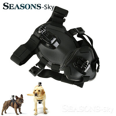 GoPro Dog Harness Elastic Band Back Chest Strap Belt for Outdoor Walking Surfing