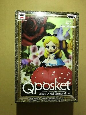 Q posket Disney Characters petit Alice Figure Banpresto Qposket NEW from Japan