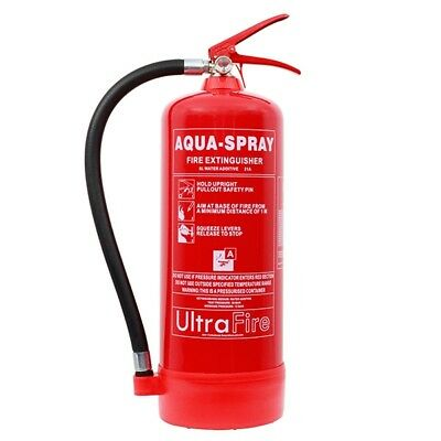 6  l / ltr / litre Water Fire Extinguisher with Additive - UltraFire