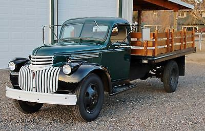 1945 Chevrolet Other Pickups  1945 Chevrolet 1 1/2 Ton Series MS Stakebed Truck, READY FOR WORK OR PROMOTION!