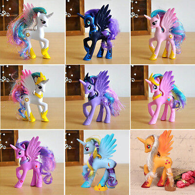 14cm Moon Princess Luna My Little Pony Doll Action Figure Toy Kids Gift Optional