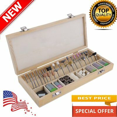 NEW SE RA9228 228-Piece Rotary Tool Accessories Kit MX