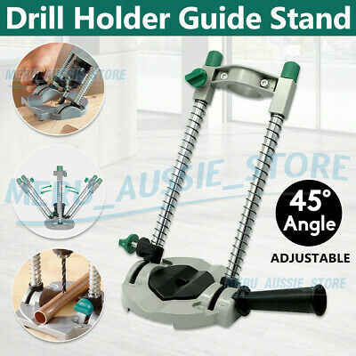 Mobile Drill Guide Stand 45° Angle Adjustable ∅ 42mm Swivel Versatile Accessory