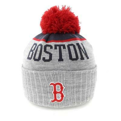 Boston Red Sox MLB Supporter Knit Beanie With Pom Pom From NEW ERA