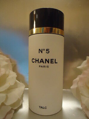CHANEL No5 TALC 150g Discontinued Earlier Highly Scented Formula New Near A1 Box