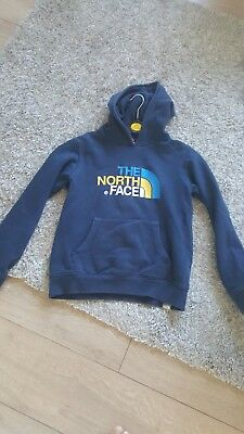 boys north face hoodie jumper size age 11/12