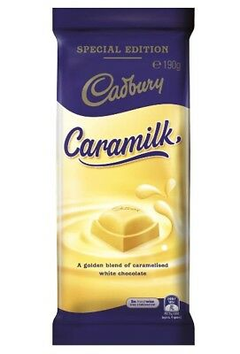 Caramilk Cadbury 190g - Non Recalled Batch (BBD 24/01/19) Last Stock!!!