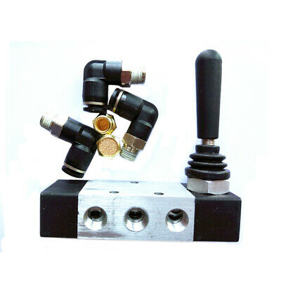 1× Tire Tyre Changer Parts Hand Controlled Switch Assist Air Valve With Fittings