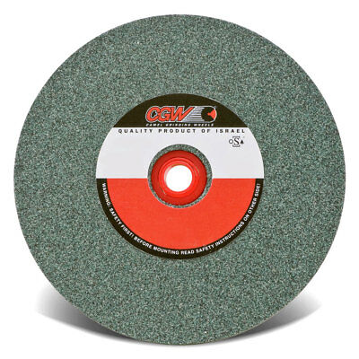 "CGW# 35006 - 6""x1/2""x1"" Green Silicon Carbide Grinding Bench Wheel, 80 Grit"