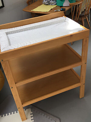 John Lewis solid pine baby changing table. Used, good condition. Costs £59 new