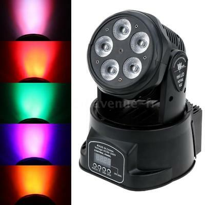 75W Wash Effet lumineux Stage Light Auto Rotating 6 Color Moving Head Noël N3V7