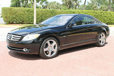 "2009 Mercedes-Benz CL-Class CL600 V12 NAV BACKUP CAM DISTRONIC 19"" AMG WHEELS 1-OWNER CLEAN CARFAX SUPER LOADED ONLY 43K MILES SPORT CHROME WHEELS LOW RESERVE"