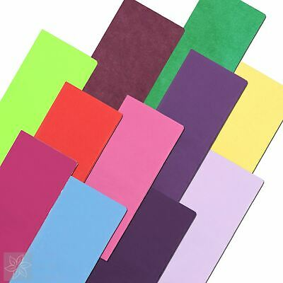Tissue Paper 10 Sheets Acid Free 50x75cm Luxury Plain Coloured Gift Wrapping
