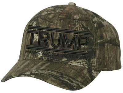 Make America Great Again Hat - Donald Trump 2020 Infinity Mossy Oak Trump Hat