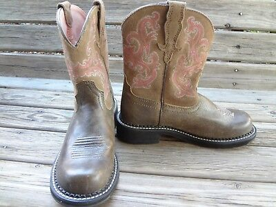 Ladies Ariat Fatbaby Ii Brown Bomber 10004730 Western Cowgirl Boot Size Us  6 M