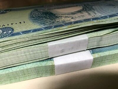10,000 Iraqi Dinar (20) 500 Notes Uncirculated!! Authentic! Iqd!@
