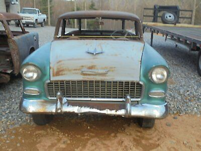 1955 Chevrolet Nomad  1955 chevy nomad bel air 150/210 project tri five