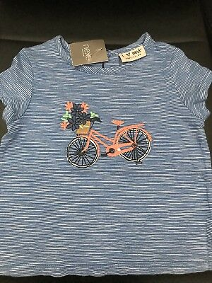 Bnwt Girls Short Sleeved T-Shirt From Next. Age 12-18 Months.